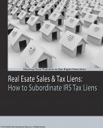 How to Subordinate an IRS Tax Lien